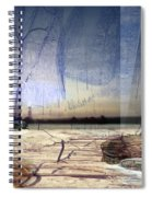 Desert Tracks Spiral Notebook