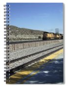 Desert Train Spiral Notebook