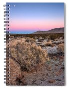 Desert Twilight Spiral Notebook