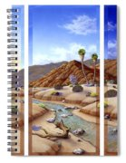 Desert Vista Large Spiral Notebook