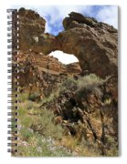 Desert Wildflowers Grand Arch  Spiral Notebook
