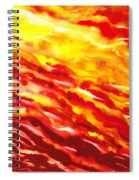 Desert Wind Abstract I Spiral Notebook