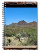 Desert Window Spiral Notebook