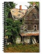 Deserted Along Time Ago Spiral Notebook