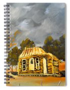 Deserted Castlemain Farmhouse Spiral Notebook