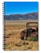 Deserted Spiral Notebook