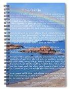 Desiderata  Spiral Notebook