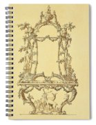 Design For A Console Table Spiral Notebook