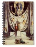 Design For Aeschylus The Eumenides Spiral Notebook