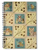 Design For Nursery Wallpaper Spiral Notebook