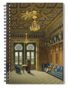 Design For The Grand Reception Room Spiral Notebook