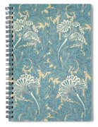Design In Turquoise Spiral Notebook
