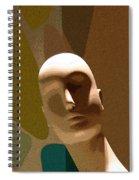 Design With Mannequin Spiral Notebook