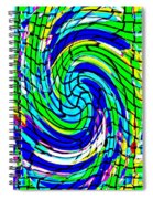 Designer Phone Case Art Colorful Rich Bold Abstracts Cell Phone Covers Carole Spandau Cbs Art 137   Spiral Notebook