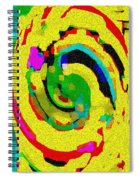Designer Phone Case Art Colorful Rich Bold Abstracts Cell Phone Covers Carole Spandau Cbs Art 139  Spiral Notebook
