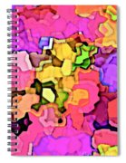 Designer Phone Case Art Colorful Rich Bold Abstracts Cell Phone Covers Carole Spandau Cbs Art 141 Spiral Notebook