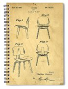 Designs For A Eames Chair Spiral Notebook
