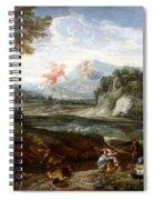 Destruction Of Niobes Children Spiral Notebook