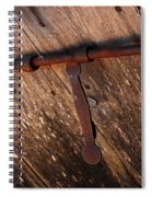 Detail Antique Door Spiral Notebook