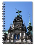 Detail City Hall Hamburg Spiral Notebook