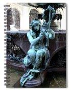 Detail Fountain City Hall  Hamburg Spiral Notebook