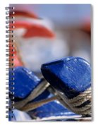 Detail From Fishing Boat Spiral Notebook