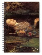 Detail From Ophelia Spiral Notebook