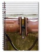 Detail Of Bumper Spiral Notebook