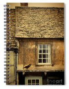 Detail Of Old House Spiral Notebook