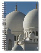 Detail Of The Domed Roof Of The Sheikh Spiral Notebook