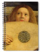 Detail Of The San Giobbe Altarpiece Spiral Notebook