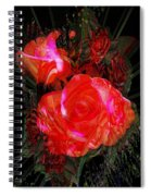 Detailed Roses Spiral Notebook