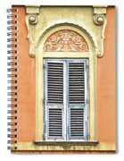 Detailed Window Of Rome Spiral Notebook