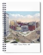Detroit - Campus Martius - Soldiers And Sailors Monument - 1914 Spiral Notebook