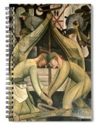 Detroit Industry  South Wall Spiral Notebook