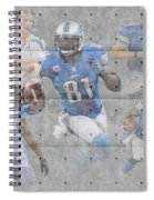 Detroit Lions Team Spiral Notebook