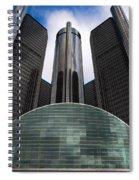 Detroit Renaissance Spiral Notebook