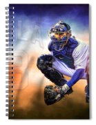 Detroit Tiger Alex Avila Spiral Notebook