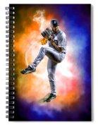 Detroit Tiger Justin Verlander Spiral Notebook