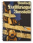 Deutsche Luftkriegsbeute Ausstellung Spiral Notebook