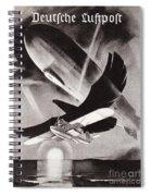 Deutsche Luftpost Spiral Notebook