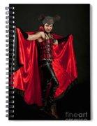 Devil 1 Spiral Notebook