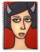 Devil Girl Spiral Notebook