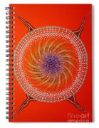 Devil Original Painting Spiral Notebook
