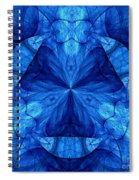 Devilish Dream Fractal Spiral Notebook