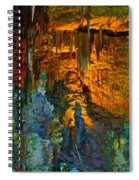 Devils Cavern Bari Greece Spiral Notebook