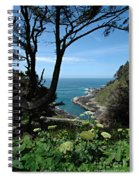 Devil's Churn Oregon Coastline Spiral Notebook