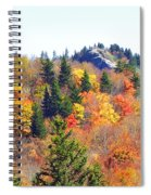 Devil's Courthouse In The Fall Spiral Notebook