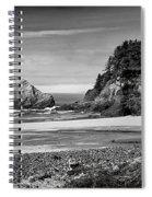 Devil's Elbow Beach Spiral Notebook