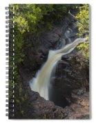 Devils Kettle Falls 3 Spiral Notebook